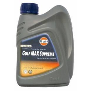Gulf MAX Supreme SAE 5W-30 1L