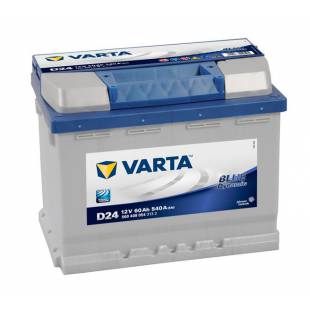 Battery VARTA D24 60Ah 540A 242x175x190
