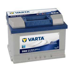 Battery VARTA D59 60Ah 540A 242x175x175
