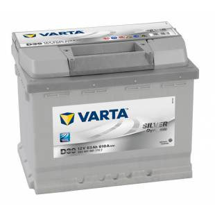 Battery VARTA D39 63Ah 610A 242x175x190