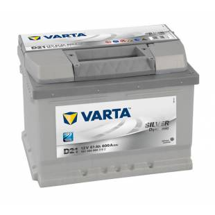 Battery VARTA D21 61Ah 600A 242x175x175