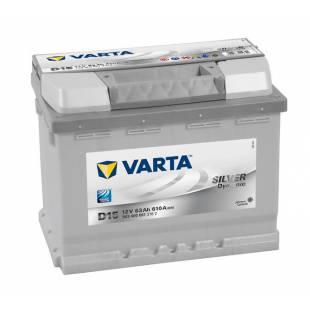 Battery VARTA D15 63Ah 610A 242x175x190