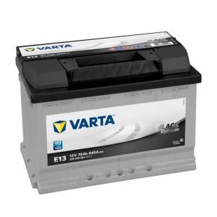 Käivitusaku VARTA E13 70AH 640A 278x175x190