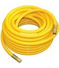 Air hoses on reels