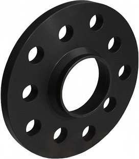 DISTANTSPLAAT (2TK) (SPACER) 15MM. 5X112 (66,6), (MER) ALU, MUST (2TK) SP12169W