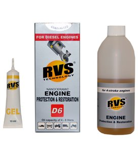 RVS ENGINE PROTECTION & RESTORATION D6, DIISELMOOTORILE RVSD6