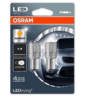 Lamp LED (P21W) 2W 12V BAU15S KOLLANE BLISTER-2TK OSRAM