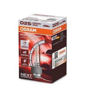 PIRN XENON D2S 35W +200% P32D-2 NIGHT BREAKER LASER OSRAM OS66240XNL