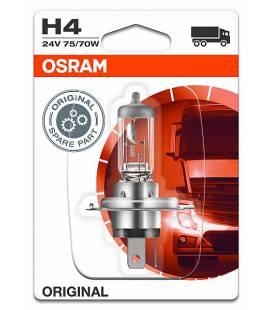 Lamp H4 75/70W 24V P43T ORIGINAL BLISTER-1TK OSRAM