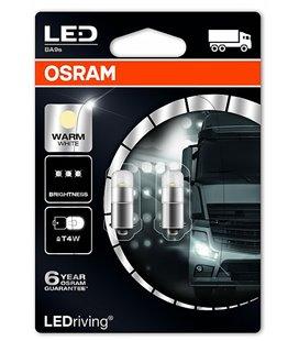 Lamp LED PREMIUM (T4W) 1W 24V BA9S 4000K BLISTER-2TK OSRAM