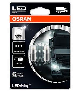 Lamp LED PREMIUM (T4W) 1W 24V BA9S 6000K BLISTER-2TK OSRAM