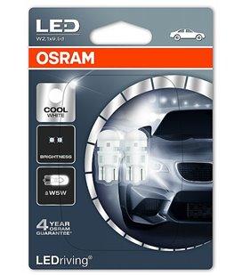Lamp LED (W5W) 0,5W 12V W2,1X9,5D 6000K BLISTER-2TK OSRAM
