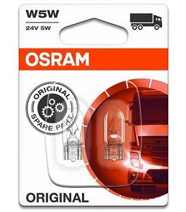 Lamp W5W 24V W2,1X9,5D ORIGINAL BLISTER-2TK OSRAM