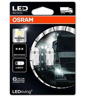 Lamp LED PREMIUM (W5W) 1W 24V W2,1X9,5D 4000K BLISTER-2TK OSRAM