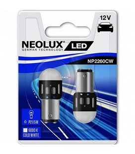 PIRN LED (P21/5W) 1,2W 12V BAY15D BLISTER-2TK NEOLUX NP2260