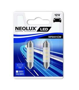 PIRN LED 0,5W C5W 12V 6000K SV8,5-8 41MM BLISTER-2TKNEOLUX NF6441