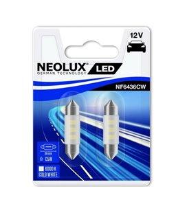 PIRN LED 0,5W C5W 12V 6000K SV8,5-8 36MM BLISTER-2TKNEOLUX NF6436