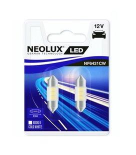 PIRN LED 0,5W C5W 12V 6000K SV8,5-8 31MM BLISTER-2TKNEOLUX NF6431
