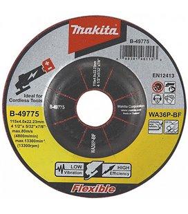 LIHVKETAS 125X4 METALL/RST (INOX) MAKITA MAKB-53110