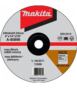 LIHVKETAS 230X6 RST (INOX) MAKITA MAKA-80896
