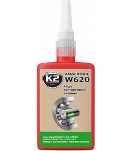 K2 W620 HIGH TEMPERATURE RETAINER PUNANE LAAGRILIIM 50ML