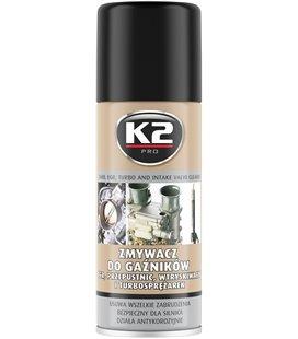 K2 CARB AND INTAKE VALVE CLEANER KARBURAATORI PUHASTUS 400ML/AE K2W128