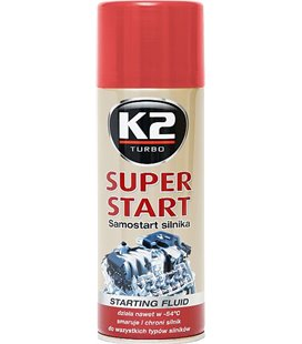 K2 SUPER START KÄIVITUSGAAS 400ML/AE K2T440