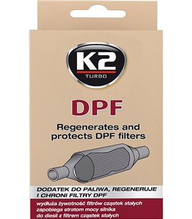 K2 DPF CLEANER DIISLI TAHMAFILTRI PUHASTAJA 50ML 60-LE K2T316