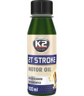 K2 2T STROKE OIL 2T MOOTORIÃ•LI ROHELINE 100ML K2O528GREENML100S