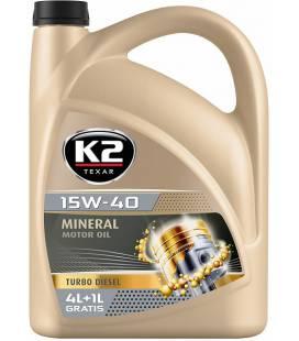K2 TEXAR 15W40 TD 5L K2O14D0005
