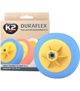 K2 DURAFLEX BLUE HARD ABRASIVE POLEERIMISPADI 150X50MM M14 K2L641