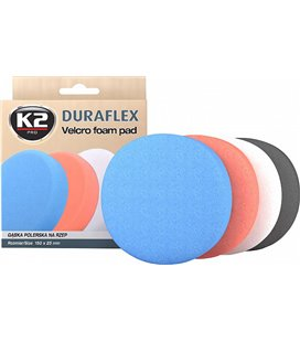 K2 DURAFLEX BLACK FINISHING POLEERIMISPADI, TAKJAKINNITUS 150X25MM K2L614