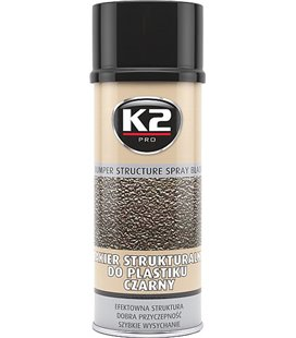 K2 BLACK BUMPER STRUCTURE SPRAY BLACK 400ML/AE K2L345