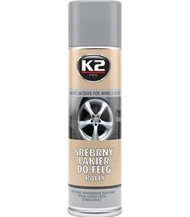 "K2 SILVER LAQUER FOR WHEELS RALLY HÃ•BEDANE VÃ""RV 500ML/AE K2L332"