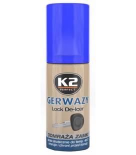 K2 LOCK DE-ICER LUKUSULA 50ML/AE K2K656