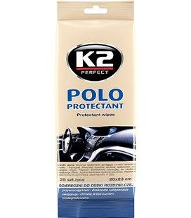 K2 POLO PROTECTANT WIPES SALONGIPUHASTUSLAPID 25TK K2K420