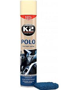 K2 POLO COCKPIT SALONGIPUHASTUSVAHT VANILJE 750ML/AE + PUHASTUSLAPP K2K407WA0
