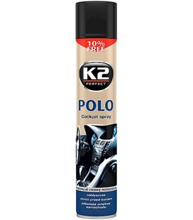K2 POLO COCKPIT SALONGIPUHASTUSVAHT NEW CAR 750ML/AE + PUHASTUSLAPP K2K407FA0
