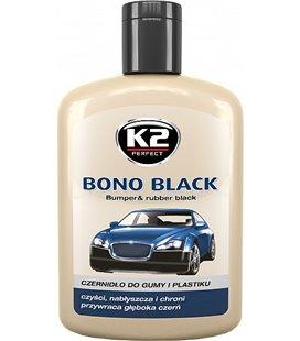 K2 BONO BLACK PLASTI- JA KUMMIHOOLDUS 200ML K2K030