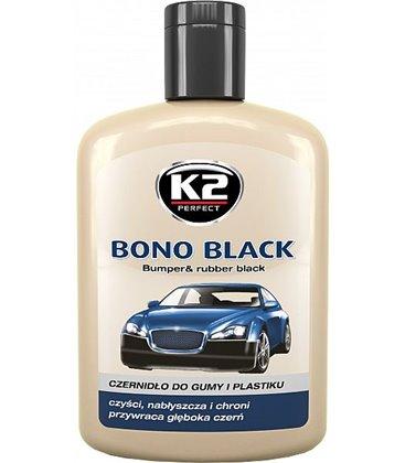 d858fcb1b9d K2 BONO BLACK PLASTI- JA KUMMIHOOLDUS 200ML