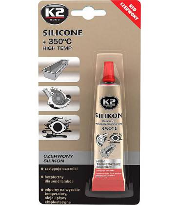 7fa66432605 K2 SILICONE RED SILIKOONHERMEETIK PUNANE +350°C 21G/TUUBK2B2450