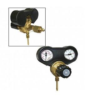 GAASIREGULAATOR 2-MANOMEETRIGA/FLOWMETER 30L / MIN - NL GYS GYS041615