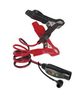 GYSFLASH-CABLE WITH CHARGE STATE & CLAMPS FOR GYSFLASH 1 TO 7 GYS GYS029149