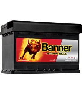 BANNER AKU POWER BULL 72AH 278X175X175 - + 660A (CARRIER) BAP7209
