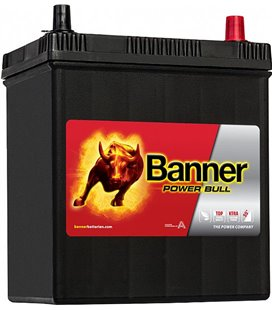 BANNER AKU POWER BULL 40 AH 187X127X204/226 - + 330A BAP4026