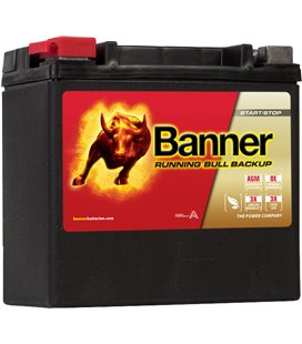 BANNER AKU BACK UP AGM AUX14 12V 200A 150X88X145 BABU51400