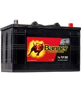BANNER AKU BUFFALO BULL 110AH 344X172X230 - + 720A BA61047