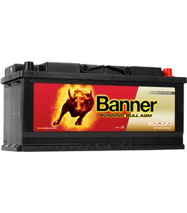 BANNER AKU RUNNING BULL AGM 105AH 394X175X190 - + 950A BA60501