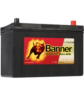 BANNER AKU RUNNING BULL EFB 95AH 303X173X203/225 - + 760A BA59500