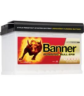 BANNER AKU RUNNING BULL EFB 70AH -+278X170X190 660A BA57000
